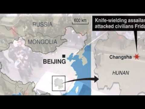 Deadly China Knife Attack In Hunan's Changsha Leaves Six Dead MUST SEE