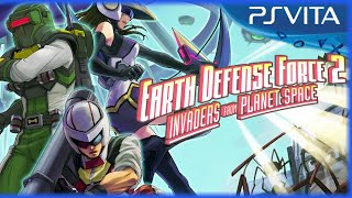 Earth Defense Force 2: Invaders From Planet Space - US Announce Trailer - PS Vita [US]