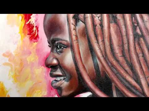 Himba – oil painting