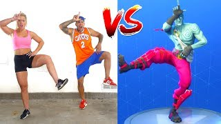 FORTNITE DANCE CHALLENGE in Real Life (All Dances)