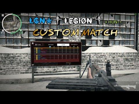 Fun Custom Match - Legion Clan + Hun - World War Heroes