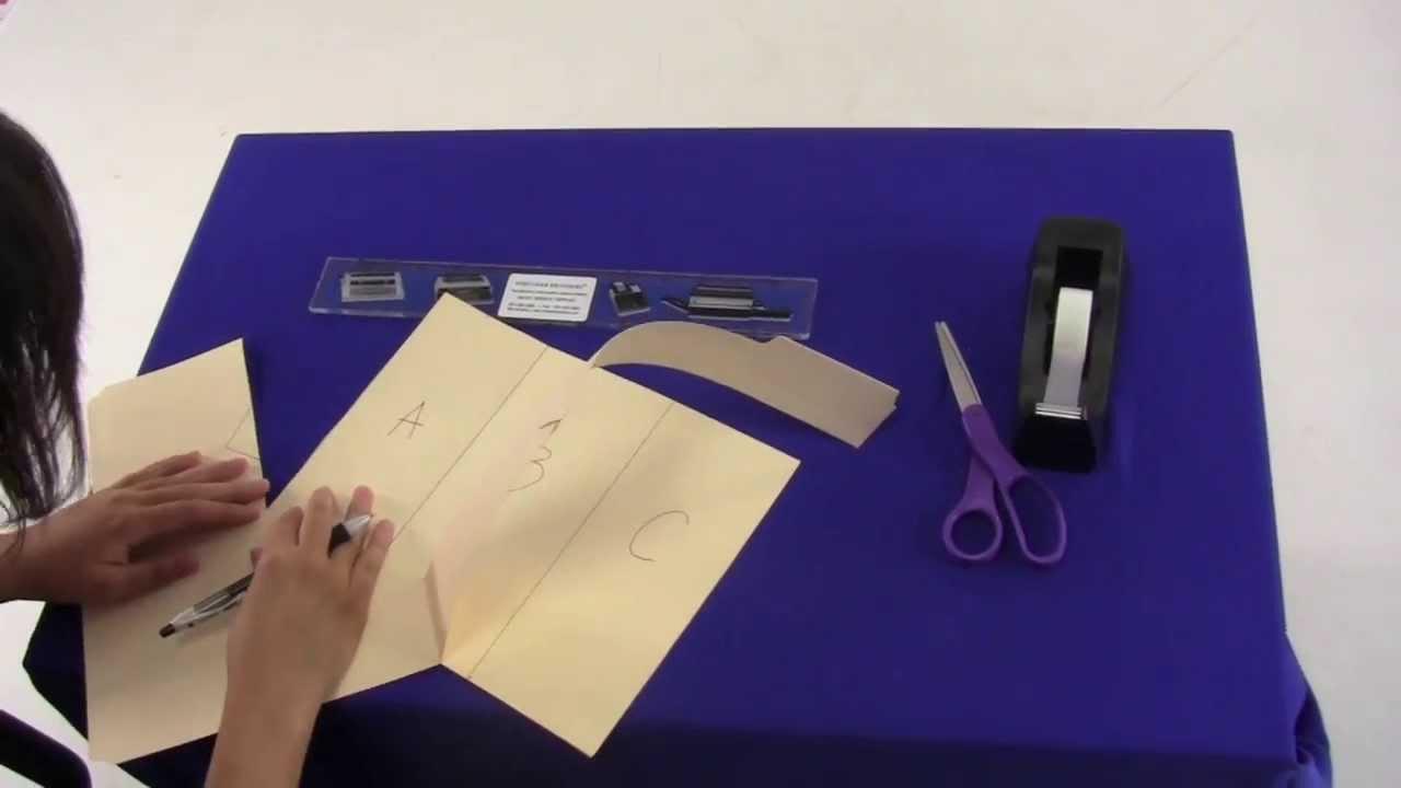 How to make a folding machine youtube