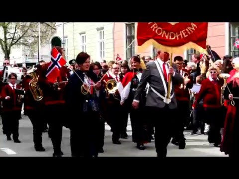 Trondheim, Norway - Norwegian Constitution Day - City Parade