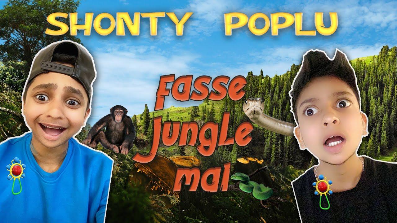 Shonty and Poplu in Jungle | Day 1 | Harsh Beniwal 2.0