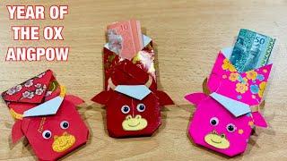 賀年摺紙  DIY Chinese New Year Red Packet Decor