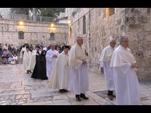 Pilgrimage to the Holy Land with the Equestrian Order of the Holy Sepulchre