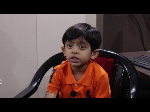 SHOCKING 3 YEARS OLD GENIUS KID TANUSH DAYALANI - PART 2