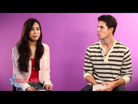 True Jackson VP's Ashley Argota & Robbie Amell in this lala 1 to 1