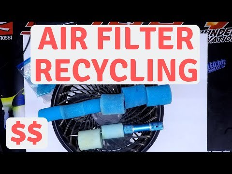 How to Clean and Re Oil Nitro Air Filters, 6Mik Air Filters and Oil