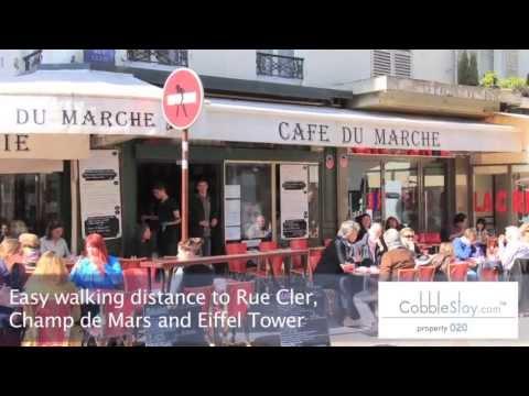 Paris France Apartments for Rent | Tour 20 Champ de Mars, Eiffel Tower Park