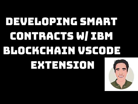 Hyperledger Smart Contract Development With IBM Blockchain Platform VSCode Extension Part 1
