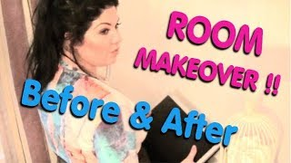 Room Makeover - See the Before & After  - Hayley from Obsessive Compulsive Cleaners