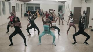 """Boom Wuk"" -  Tanya Stephens || SHR Dancehall Dance Class"