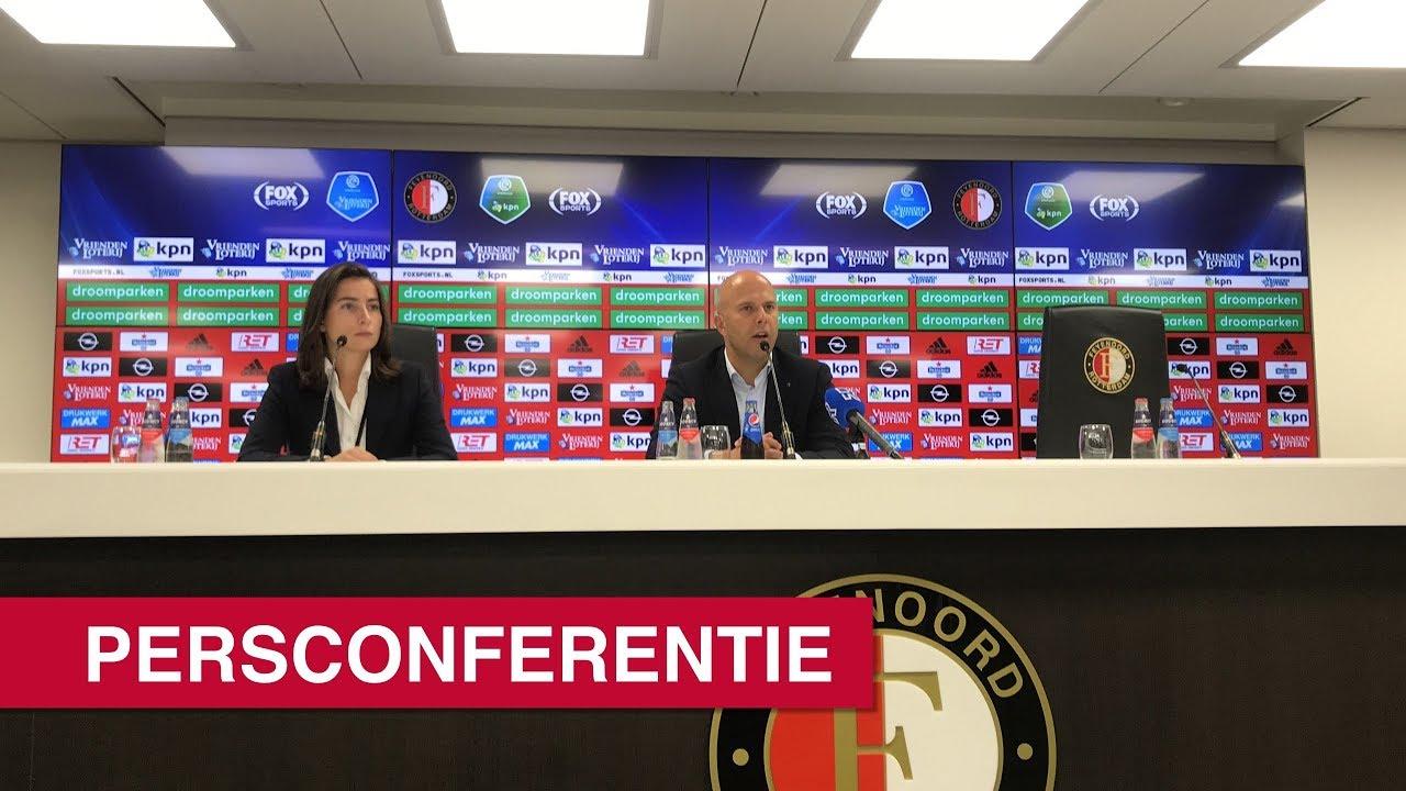 Persconferentie Feyenoord - AZ