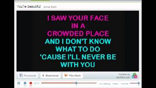 James Blunt - You're Beautiful (Karaoke)