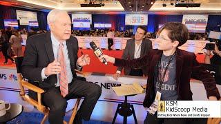 Sawyer Jane gets the scoop at the 9th Democratic Presidential Debate in Las Vegas for KidScoop Media