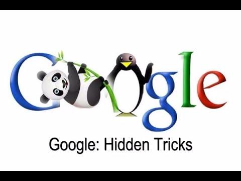 Top 5 Google Tricks You MUST Try! 2017| google gravity, Google pond |