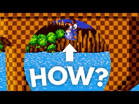 How Can Sonic Run Around Loops? | Science of Sonic The Hedgehog DECONSTRUCTED