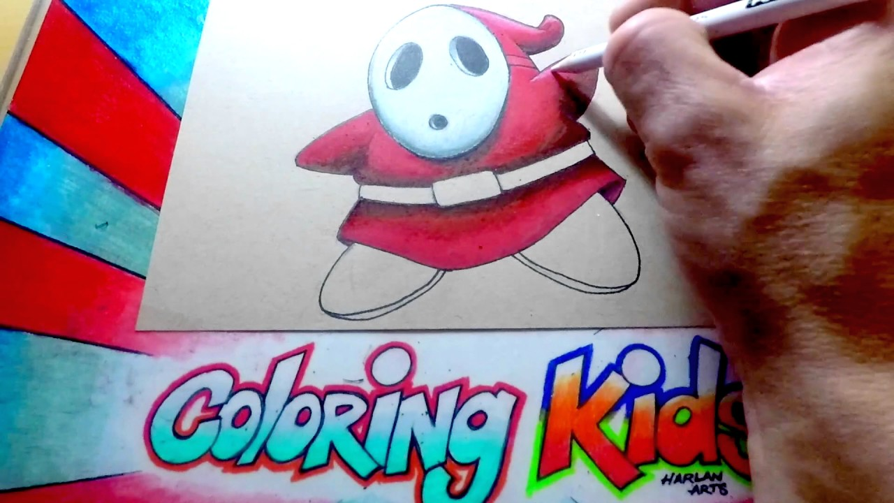 nintendo mario brothers coloring pages for kids learn how to color