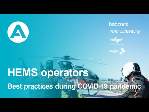 Sharing best practices used in the HEMS industry during the COVID-19 pandemic