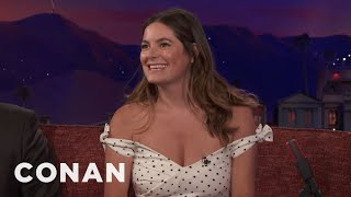 Jamie Neumann Taught Her Mom About Merkins  - CONAN on TBS