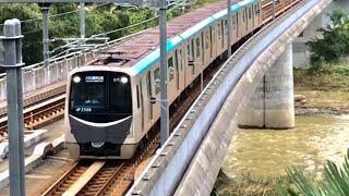 【響くリニア駆動!】仙台市営地下鉄東西線2000系(三菱IGBT)発車・走行音シーン