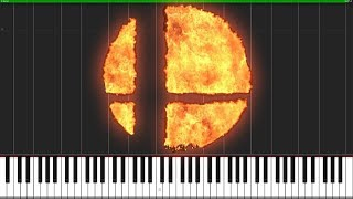 Super Smash Bros Reveal Trailer Theme [Orchestra] (Synthesia) // Knight Pianist ChacelX