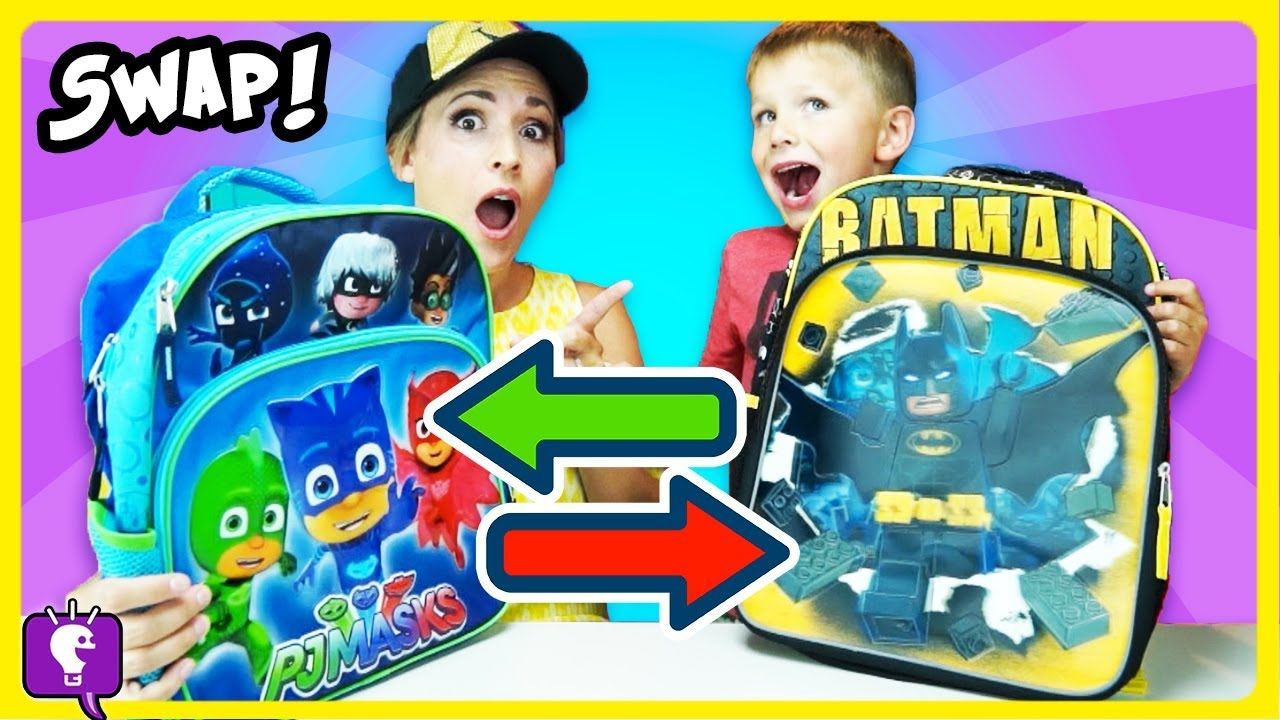 Switch It Up Toys : Backpack switch up hobbybear vs hobbymom swap surprise