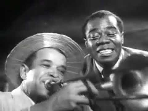Billie Holiday & Louis Armstrong  Dixie Music Man  New Orleans '47 LIVE!