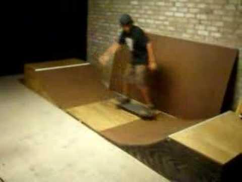 skating on my tiny mini ramp YouTube – Garage Mini Ramp Plans