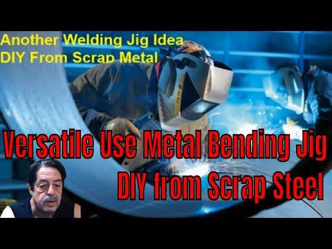Welding - Versatile Metal Bending Jig - DIY Scrap Metal