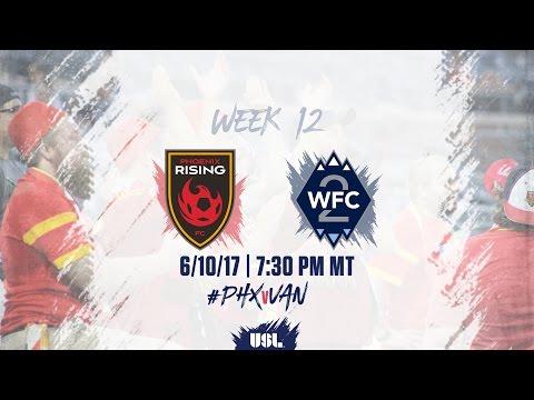 USL LIVE - Phoenix Rising FC vs Vancouver Whitecaps FC 2 6/10/17
