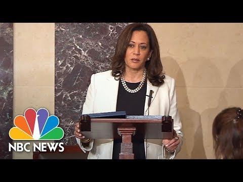 Senate Democrats Hold 'Talk-A-Thon' In Protest Of Healthcare Bill | NBC News