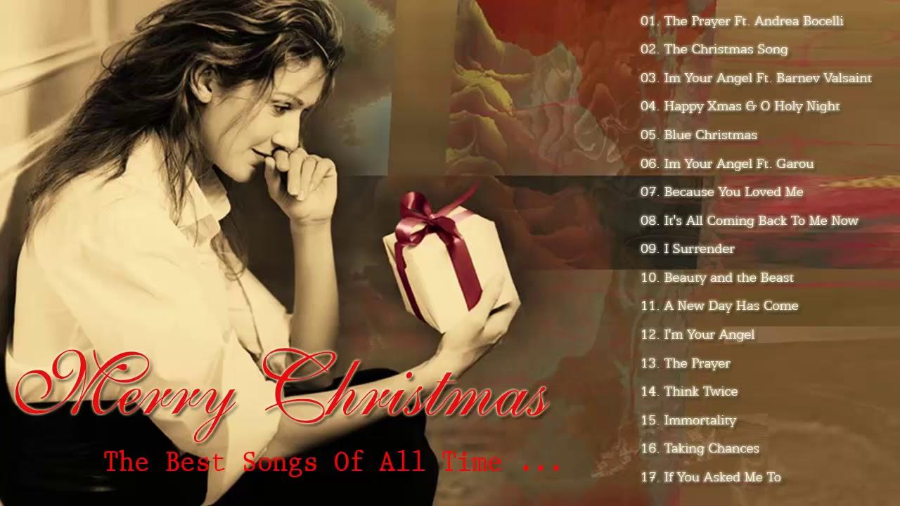 Celine Dion Christmas Songs 2019 Best Christmas Songs Of Celine Dion Celine Dion Christmas Album Youtube