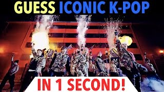 Video GUESS ICONIC K-POP SONGS IN 1 SECOND! download MP3, 3GP, MP4, WEBM, AVI, FLV Mei 2018