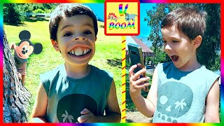 Новые фильтры и смена лица - Веселые развлечения для детей!