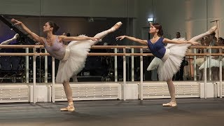 The Royal Ballet rehearse La Bayadère