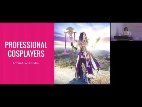 GCAP 2016: Talking to People with Swords: How to Engage with Cosplay Communities - Eve Beauregard