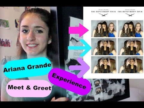 Ariana grande meet and greet experience 2015 kissing ariana grande ariana grande meet and greet experience 2015 kissing ariana grande honeymoon tour m4hsunfo