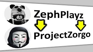 I Changed My Roblox Name To Project Zorgo.. (Ghost)