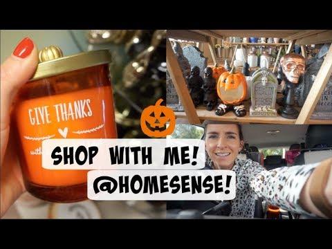 SHOP WITH ME AT HOMESENSE! | HALLOWEEN & AUTUMN DECOR!