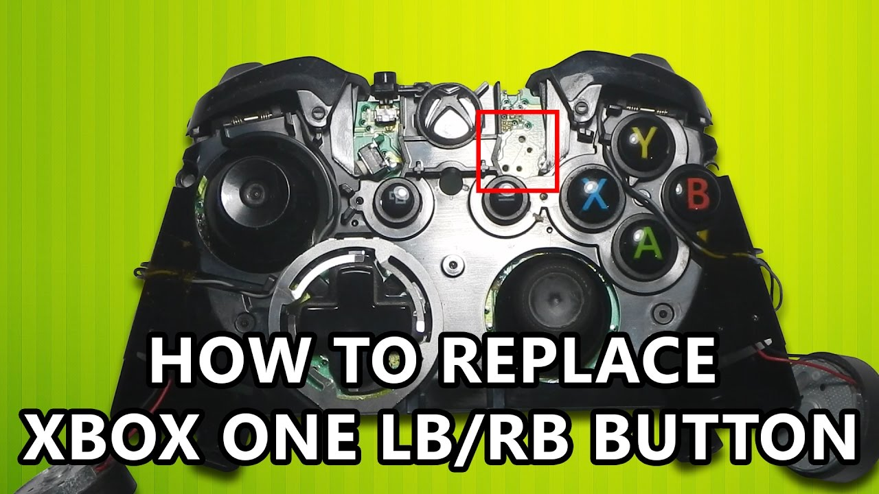 How to replace Xbox One LB / RB tact switch