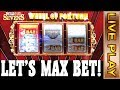 WHEEL OF FORTUNE - MAX BET - QUICK HIT RICHES & OTHER FUN SLOTS AT TREASURE ISLAND