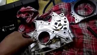 """""""ГТ"""" Капремонт двигателя от TOYOTA 2С (2СТ) - подробная! # 2."""