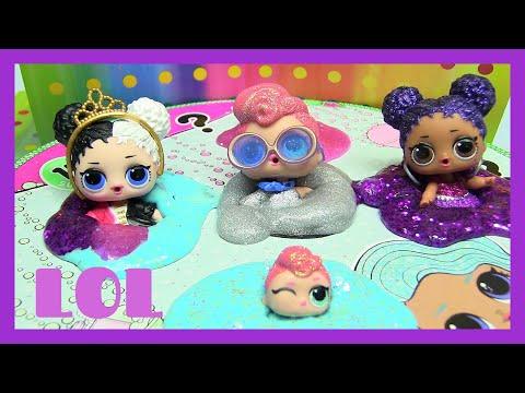 LOL Big Sister SURPRISE Dolls | SlimyGloop DIY Slime KIT SILVER / Mystical | Rainbow Collector