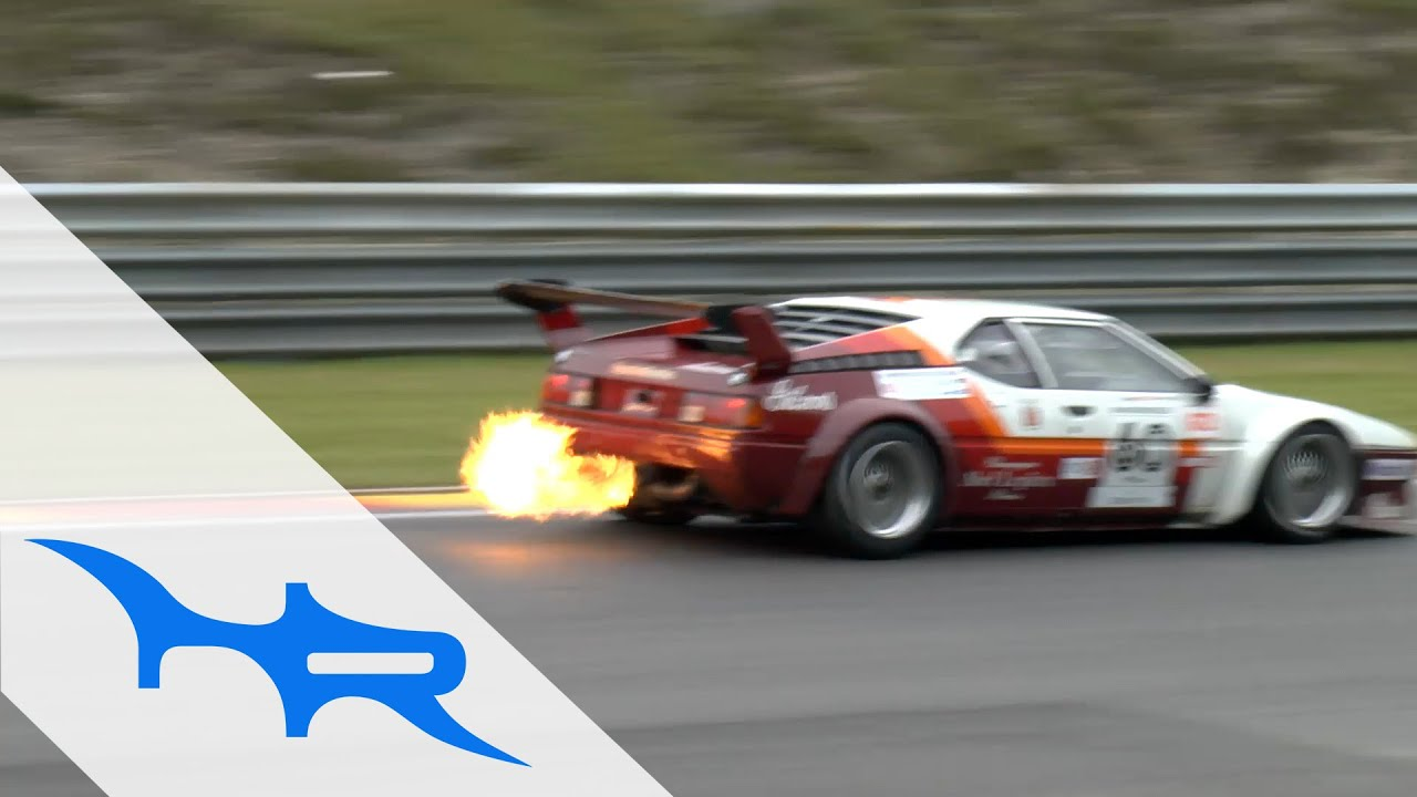 FLAMETHROWER 1979 BMW M1 Procar (Pure Sound at Spa Francorchamps)