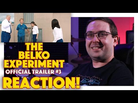 REACTION! The Belko Experiment Official Trailer #3 - James Gunn Written Movie 2017