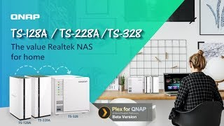 The value Realtek NAS for home: TS-128A / TS-228A / TS-328