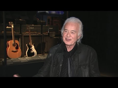 "Watch Jimmy Page Discuss the Harmony Acoustic He Used to Record ""Stairway to Heaven"""