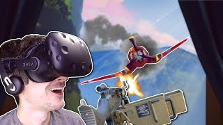 INTENSE PLANE BATTLE & CRASH! - I Expect You To Die VR Gameplay - Secret Agent VR spy game